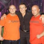 Piotr Dybus, Maciej Kurzajewski i Kamil Bazelak  w programie Gwiazdy tańcza na lodzie