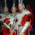 Piotr Dybus i Kamil Bazelak jako Gladiatorzy w programie Gwiazdy tańczą na lodzie
