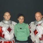 Piotr Dybus i Kamil Bazelak jako Gladiatorzy w programie Gwiazdy tańczą na lodzie (3)