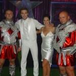 Piotr Dybus i Kamil Bazelak w programie Gwiazdy tańczą na lodzie