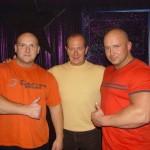 Piotr Dybus,Włodzmierz Szaranowicz i Kamil Bazelak w programie Gwiazdy tańczą na lodzie