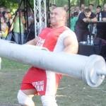 Kamil Bazelak na pokazach strongman w Nowym Brzesku (3)