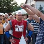 Kamil Bazelak na pokazach strongman w Brzesku (2)