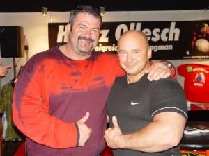 Heinz Ollesch i Kamil Bazelak