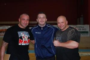 Marcin Najman, Rafał Klimek i Kamil Bazelak