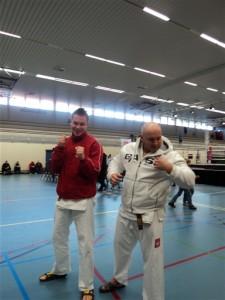 Tomasz Zysk i Kamil Bazelak