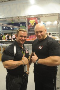Lee Priest i Kamil Bazelak