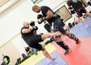Kamil Bazelak trenuje z Alistairem Overeem