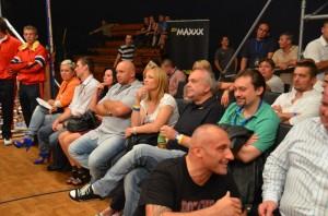 Mateusz Masternak, Kamil Bazelak, Iwona Guzowska i Marcin Najman