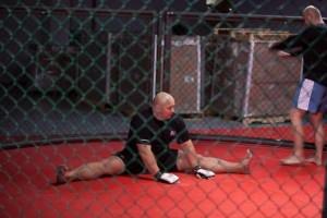 Kamil Bazelak na treningu