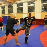 Kamil Bazelak trenuje z Alistair Overeem