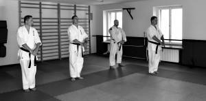 Kamil Bazelak na treningu Sei Budokai