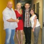 Kamil Bazelak,Alicja Mikisz, Łukasz Mikisz,Mariola Mrowiec