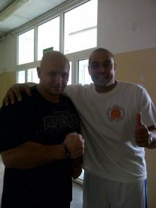 Aluno Kamil Bazelak i Mestre Porquinho