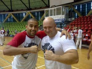 Instrutor Piau i Aluno Kamil Bazelak