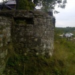 Fragment muru na Zamku w Rabsztynie