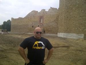 Kamil Bazelak na Zamku Królewskim w Inowłodziu