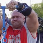 Kamil Bazelak i z 45kg wagą płaczu na pokazach strongman dla MPK w Łodzi (2)
