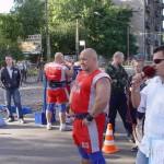 Kamil Bazelak na pokazach strongman dla MPK w Łodzi