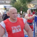 Kamil Bazelak na pokazach strongman dla MPK w Łodzi (2)