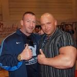 Dorian Yates i Kamil Bazelak