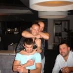 Mamed Chalidow i Kamil Bazelak -podwójne duszenie podczas imprezy