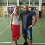 Kamil Bazelak i Alicja Mikisz