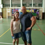 Kamil Bazelak i Mariola Mrowiec