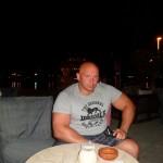 Kamil Bazelak w Port Ghalib w Egipcie