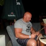 Kamil Bazelak w Port Ghalib w Egipcie (2)