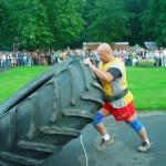 Piotr Dybus Ogólnopolskie zawody strongman w Janowie Lubelskim (2)