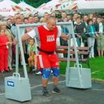 Tomasz Lech Ogólnopolskie zawody strongman w Janowie Lubelskim (4)