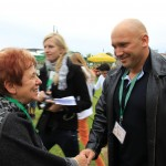 Kamil Bazelak na pokazach psów organizowanych przez Fundację Przyjazna Łapa w Puławach (2)