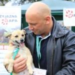Kamil Bazelak z Sisi na pokazach psów organizowanych przez Fundację Przyjazna Łapa w Puławach