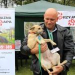 Kamil Bazelak z Sisi na pokazach psów organizowanych przez Fundację Przyjazna Łapa w Puławach (3)