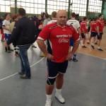 Kamil Bazelak na meczu