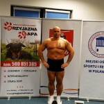 Kamil Bazelak na ważeniu w Puławach