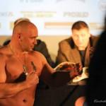 Kamil Bazelak vs Adam Koprowski na ważeniu w Częstochowie