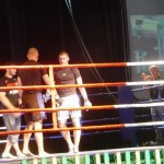 Karol Celiński vs Łukasz Babik na gali Night of Champions w Łodzi..