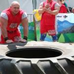 Kamil Bazelak na pokazach strongman