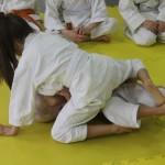 I Turniej Furo Karate w Andrespolu. Na zdjęciu Zuzanna Wałoszek