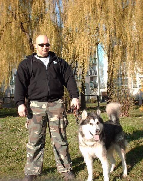 Kamil Bazelak i Rocky (2)