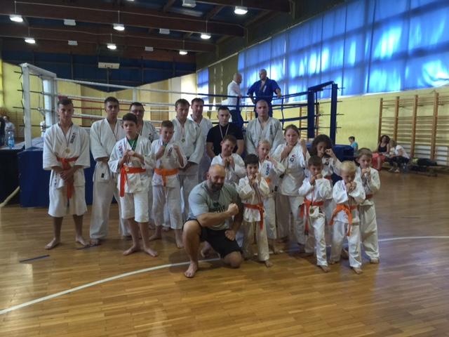 Grand Prix Polski Furo karate w Wiśniowej Górze