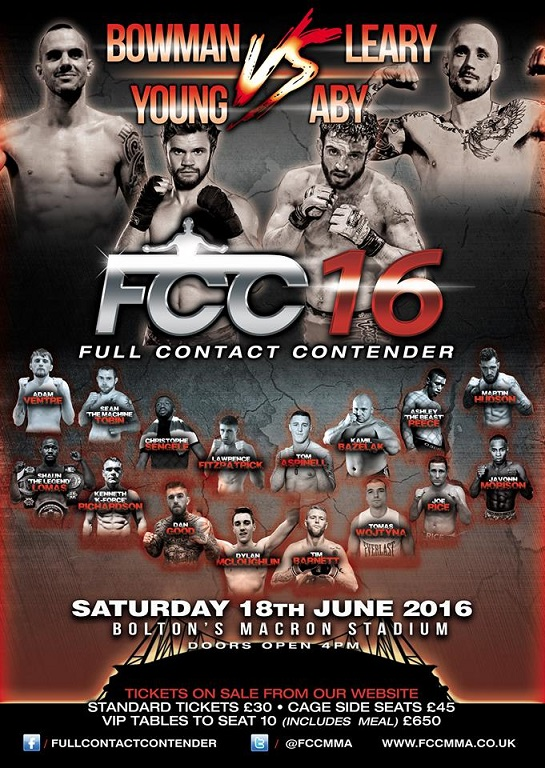Kamil Bazelak vs Tom Aspinall FCC16