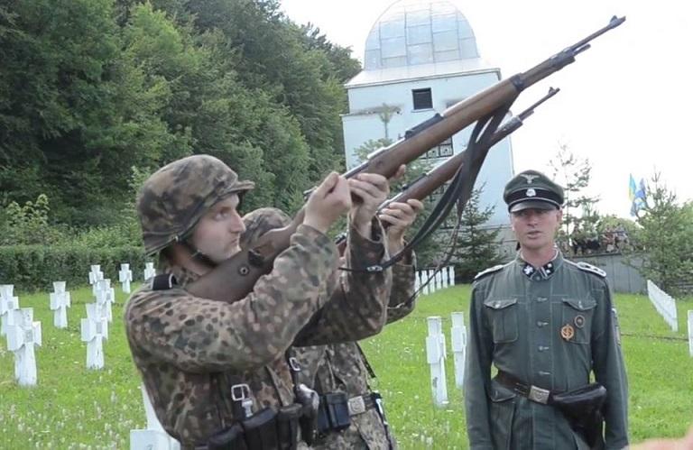 Ukraińscy banderowcy i faszyści SS Galizien