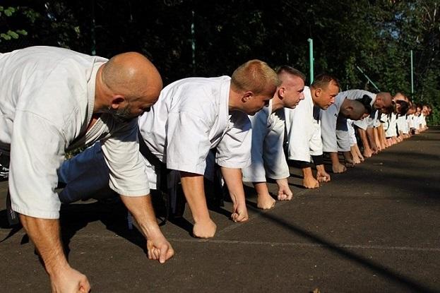 Kamil Bazelak egzamin na 2 Dan Furo Karate