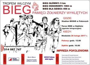 Kamil Bazelak patronem Biegu Wilczym Tropem