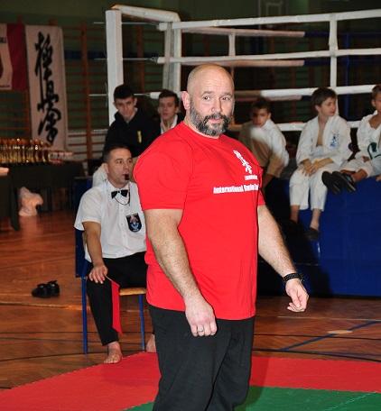 Kamil Bazelak sędzia karate Zambrów