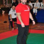 Mistrzostwa Polski Kyokushin sensei Kamil Bazelak sędzia (11)