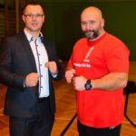 Mistrzostwa Polski Kyokushin sensei Kamil Bazelak sędzia